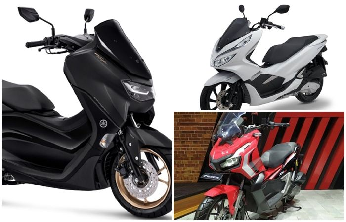 Yamaha All New NMAX, Honda PCX150 dan ADV150.
