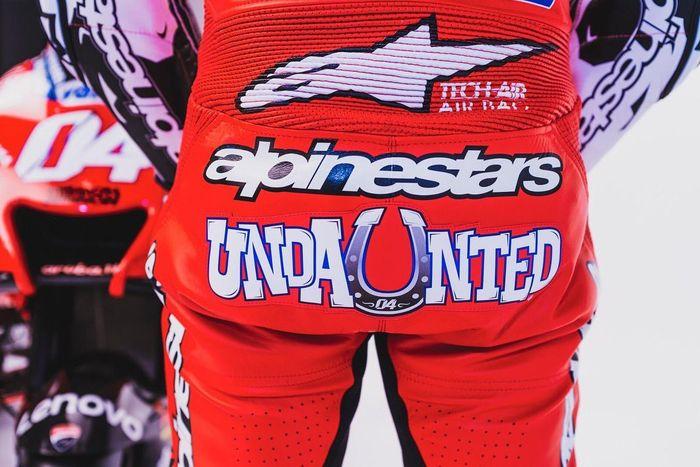 Julukan baru yang terpampang di racing suit Andrea Dovizioso kurang lebih menggambarkan sifat pribadi dari pembalap bernomor start 04 itu