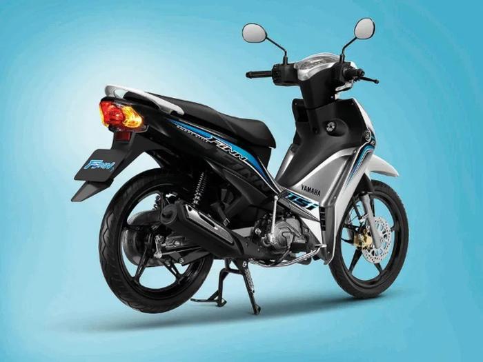 Bagian belakang Yamaha Finn 2020