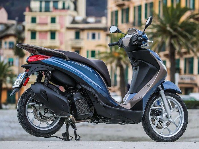 Piaggio Medley 125 2020 pakai mesin 125cc dengan teknologi i-get.