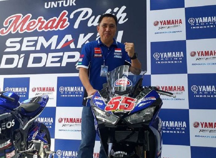 GM Aftersales and Public Relation Yamaha Indonesia Motor Manufacturing (YIMM), Muhamad Abidin.