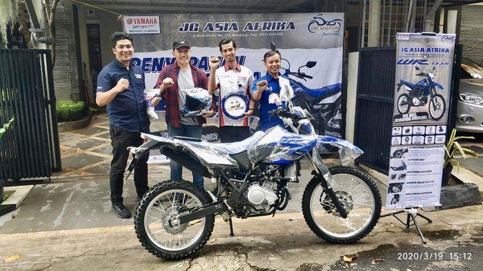 3 orang pemilik pertame Yamaha WR 15 diwilayah Jawa Barat