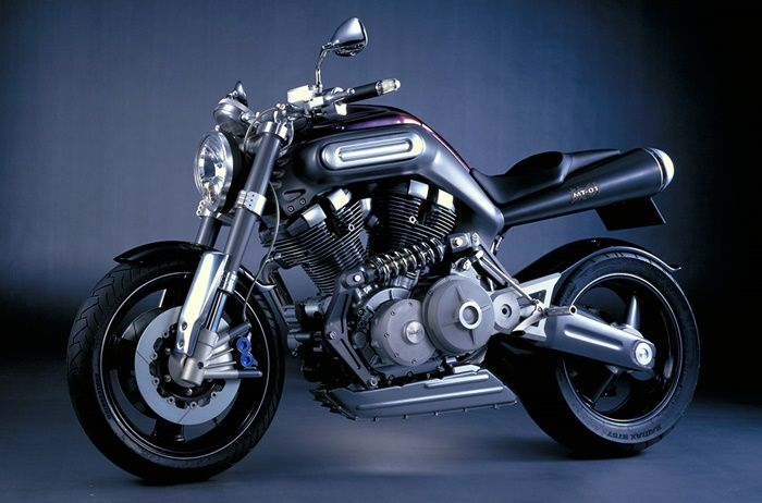 Yamaha MT-01 Concept pertama hadir di Tokyo Motor Show 1999