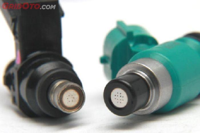 Injektor motor memiliki banyak jenis dan jumlah holes