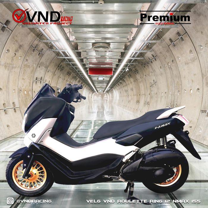 Yamaha NMAX Mungil, Pakai Pelek Ring 12 Inci Dari VND, Anti Mentok