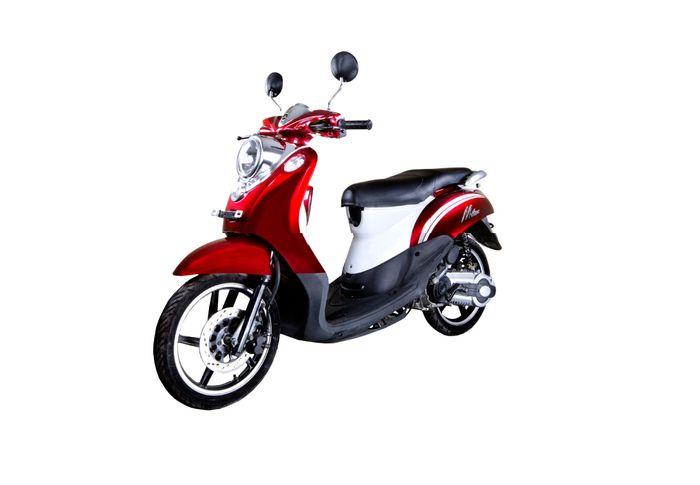 Dari mesinnya, motor matic ini memakai jeroan 125 cc SOHC 4-tak dengan silinder tunggal.