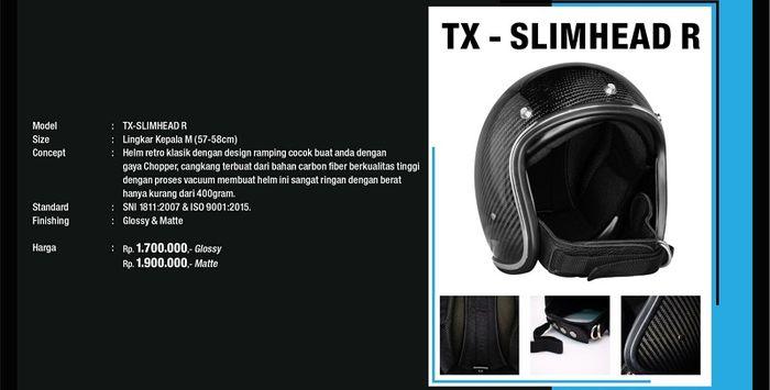 Helm Jericho TX - Slimhead R