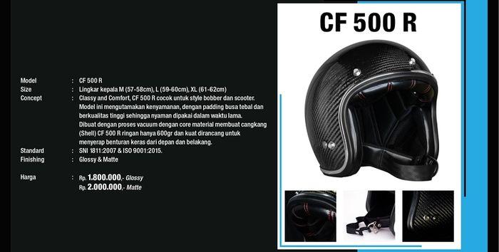 Helm Jericho CF 500 R
