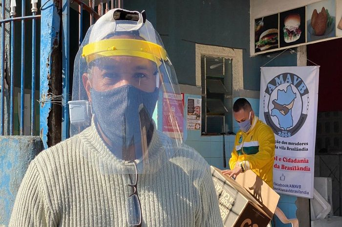 Claudio Rodrigues, salah satu pimpinan geng motor yang jadi pahlawan di tengah pandemi virus corona.