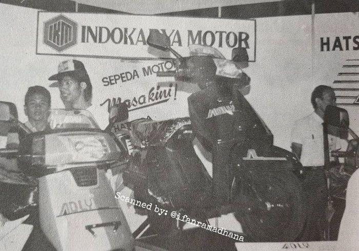 Hatsuda Adly di buat oleh Indokarya Motor.