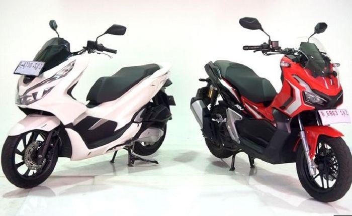 Honda PCX 150 dan Honda ADV150.