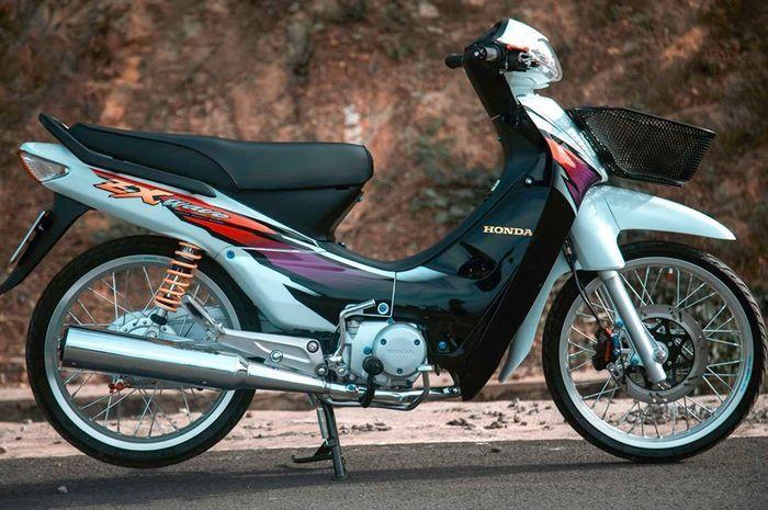 Modifikasi Honda Wave ZX alias Honda Supra