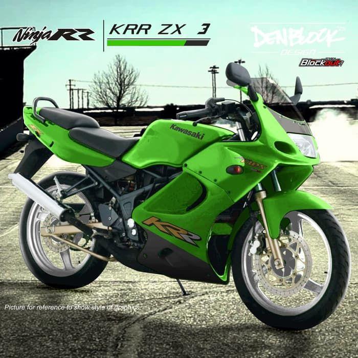 Ilustrasi Kawasaki Ninja RR 2-tak CBU Thailand