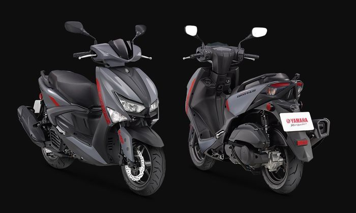 Yamaha launching motor matic terbaru bermesin 125 cc, tampang sangar mirip NMAX.