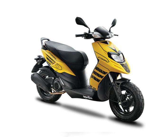 Aprilia Storm 125 dibekali mesin 125 cc dengan teknologi BS6 yang diklaim lebih ramah lingkungan.