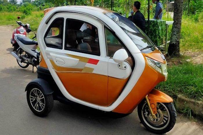 Kendaraan roda 3 dijual setara harga Honda BeAT terbaru.