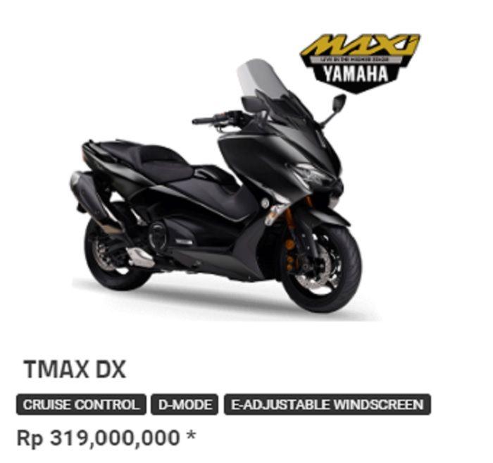 Mitsubishi eK X harganya jauh lebih murah dari Yamaha TMAX DX.