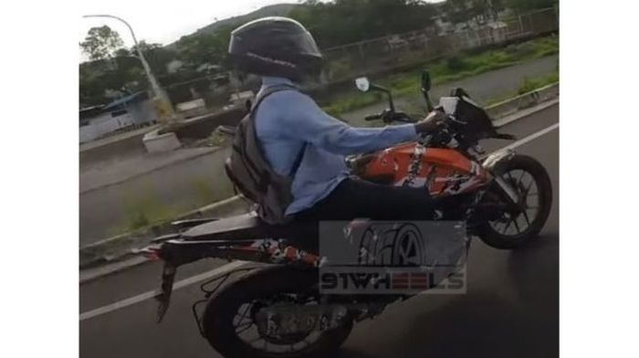 Spy shot KTM Adventur 250