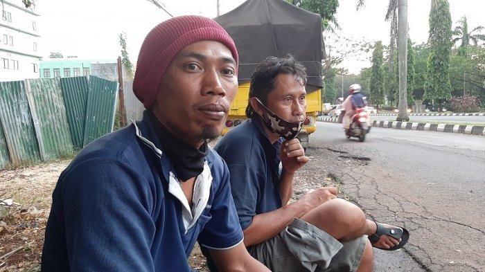Dua orang mengalami modus senggol kendaraan di Jalan Raya Bogor, Cibinong, Kabupaten Bogor