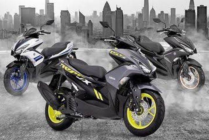 Ilustrasi beragam tipe Yamaha Aerox 155