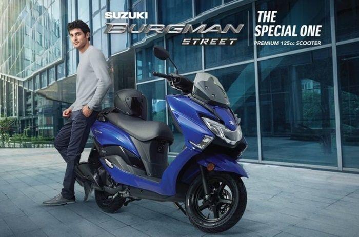 Suzuki Burgman Street 125 punya warna baru di India