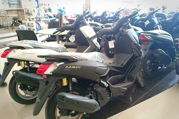16 unit Yamaha NMAX bisa dibeli dari uang koin logam Rp 500 gambar melati.