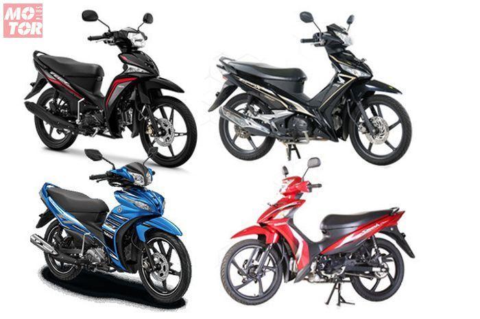 Segini harga motor bebek baru September 2020, ada yang gak sampai Rp 10 juta!