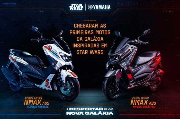Yamaha NMAX 160 limited edition edisi Starwars