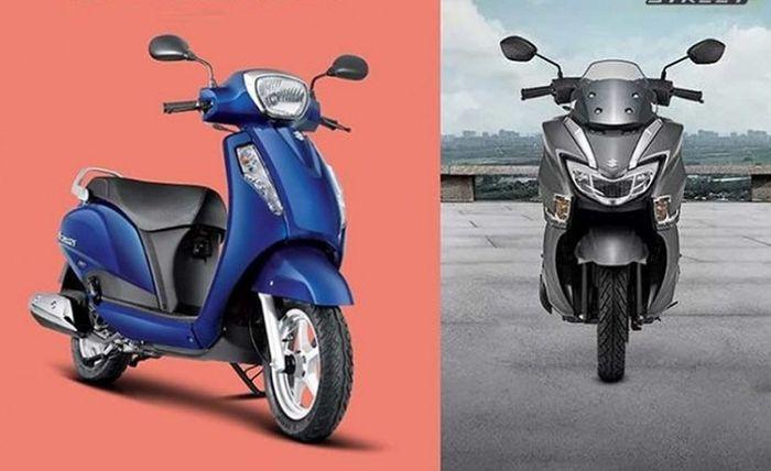 Dijual Lebih Murah dari Yamaha NMAX, Dua Motor Matic Suzuki Ini Jadi Pesaing Berat Honda BeAT