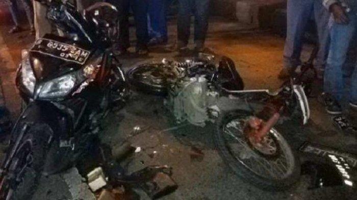 Kecelakaan motor sebabkan Sahrul Gunawan (bukan Sahrul Gunawan artis) meninggal dunia
