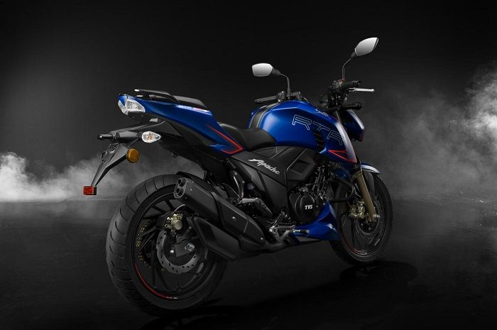 Pengereman motor baru ini dilengkapi cakram ganda dengan ABS.