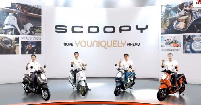 Peluncuran All New Honda Scoopy