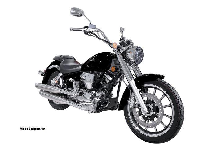 Resmi meluncur motor baru mirip Harley-Davidson, harganya lebih murah dari motor matic Yamaha