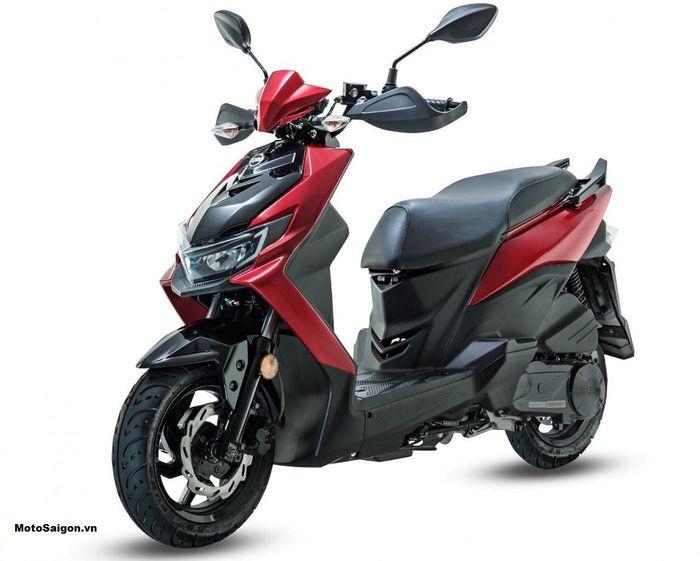 Konsep motor baru SYM Jet RX 125 2021 mirip Honda BeAT Street dengan setang terbuka.