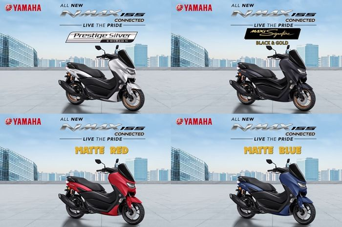 Yamaha All New NMAX Connected