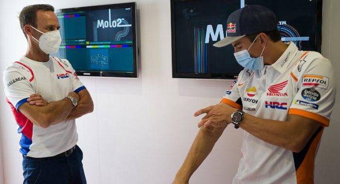 Bos tim Repsol Honda, Alberto Puig mengaku timnya enggak akan bisa menang tanpa adanya Marc Marquez.