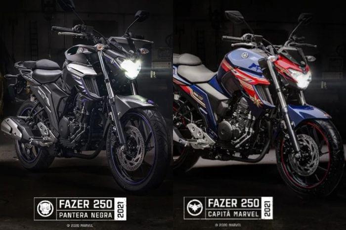 Motor baru Yamaha FZ25 edisi Captain Marvel.