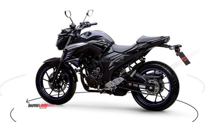 Yamaha FZ25 Avengers Edition punya spek yang sama dengan varian standarnya.