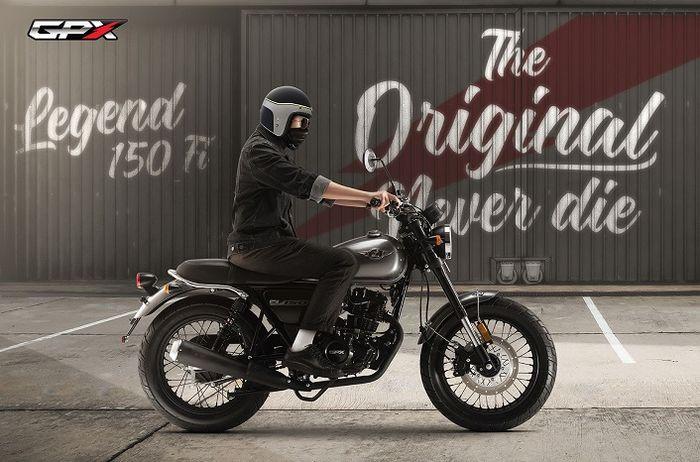 Resmi meluncur motor baru bertampang retro jadi saingan Kawasaki W175, harganya cuma segini bro.