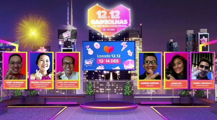 Garbolnas 12.12 merupakan kepanjangan dari Tiga Hari Belanja Online Nasional Lazada