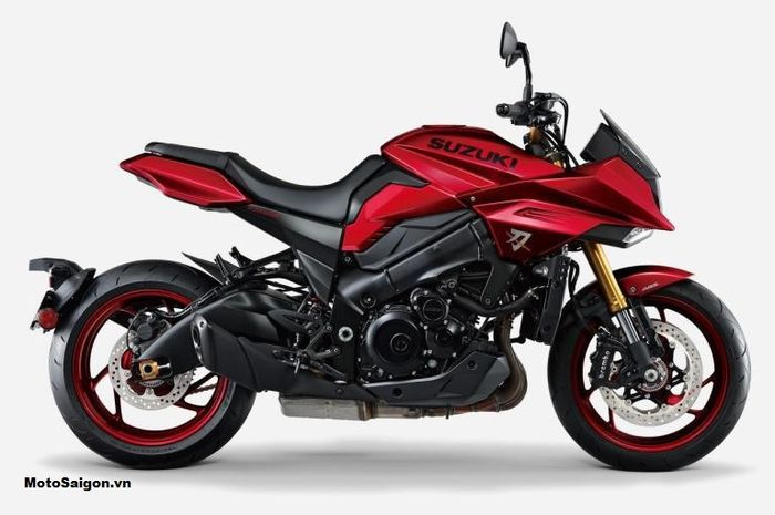 Suzuki Katana Limited Edition 2021 warna merah cuma 100 unit