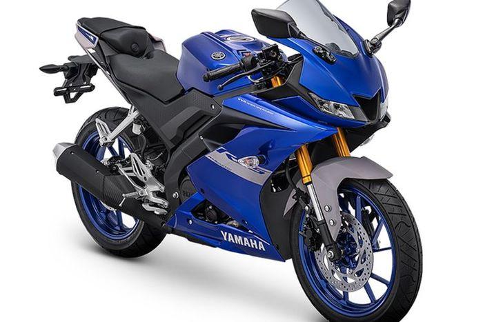 Matte Blue Yamaha R15