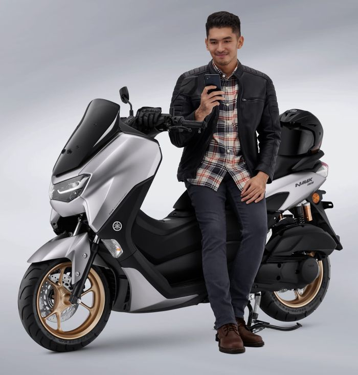 All New NMAX 155 Connected/ABS dengan segudang fitur superior.
