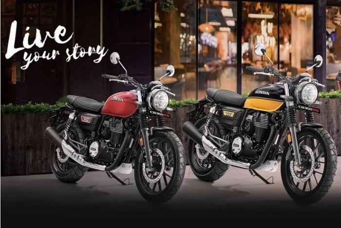 Ilustrasi. Honda CB350 RS