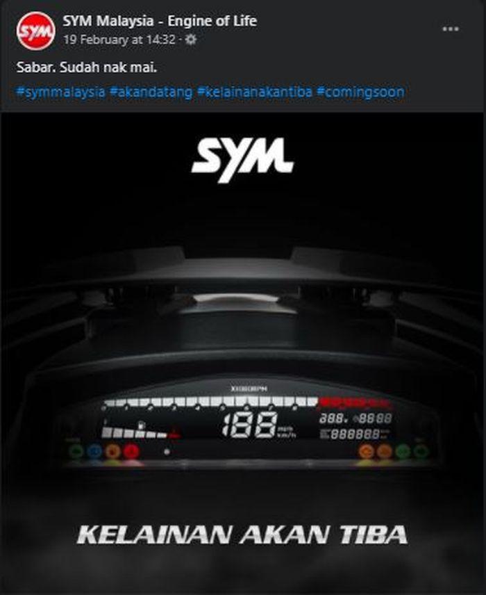Teaser SYM Jet X 150