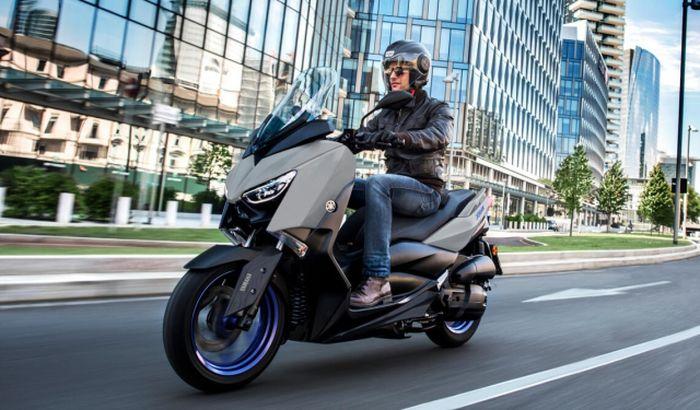 Ilustrasi. Yamaha XMAX 2021 di Eropa, mesin sudah Euro 5.