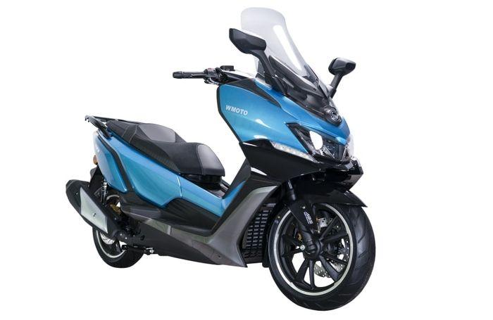 WMoto RT3 2021, pesaing Yamaha XMAX 250 meluncur di Malaysia, harga Rp 50 jutaan.