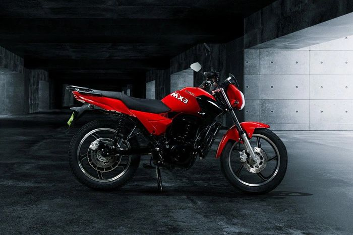 Motor listrik Komaki MX3, mirip Honda Verza, harga Rp 18 jutaan.