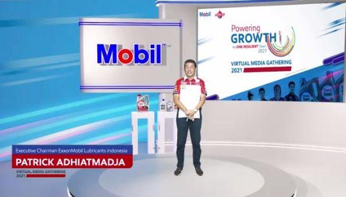 Executive Chairman ExxonMobil Lubricants Indonesia, Patrick Adhiatmadja