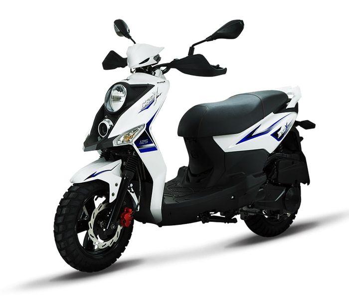 SYM Crox 50, kembaran Yamaha X-Ride.